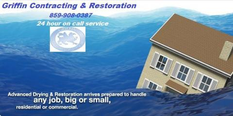 Hire The Best in Water Damage Restoration With The Team at Griffin Contracting & Restoration, Covington, Kentucky