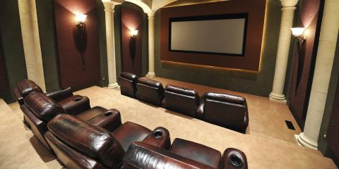 3 Design Tips for Home Theater Furniture, St. Charles, Missouri