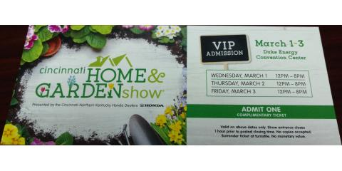 2017 Home and Garden Tickets, Forest Park, Ohio