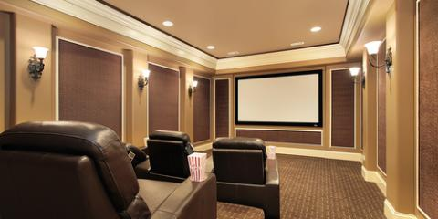 Enjoy This Winter With a Premier Media Room From Kipp's Contracting, Ellicott City, Maryland