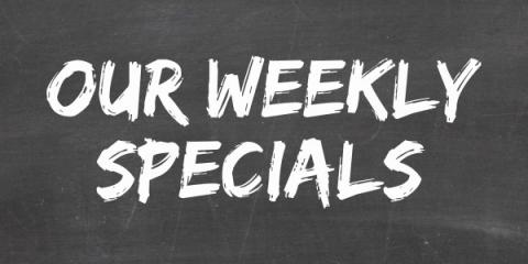 Weekly Specials: Race Day Savings, Nekoosa, Wisconsin