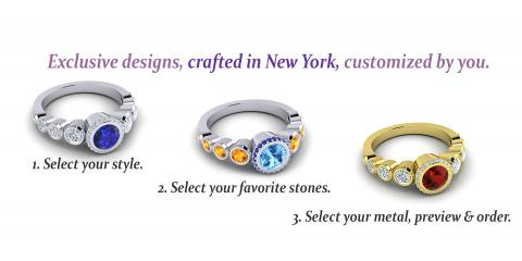 Dazzle Your Darling With Romantic Personalized Jewelry, Manhattan, New York
