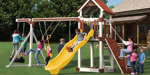 3 Ways Having a Swing Set Will Make Your Kids Healthy & Happy , Austin, Texas
