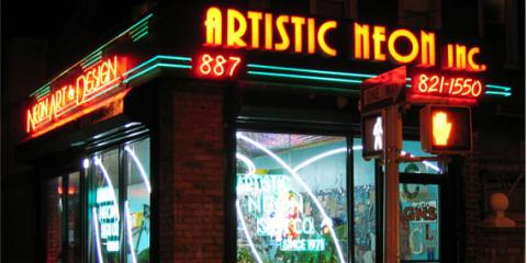 Cool Neon Signs Around The World: Inspiration From Artistic Neon Inc., Queens, New York