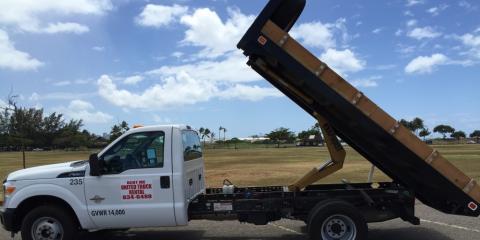5 Safety Tips When Renting a Dump Truck, Honolulu, Hawaii