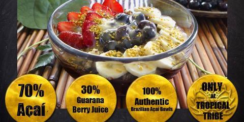 4 Ingredients to Make the Healthiest Acai Bowl, Honolulu, Hawaii