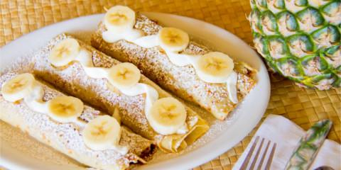 Enjoy Crepes 7 Ways at This Popular Hawaiian Restaurant, Honolulu, Hawaii