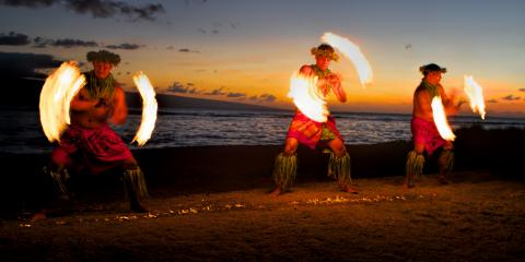 The Origins of the Fire Knife Dance, Honolulu, Hawaii