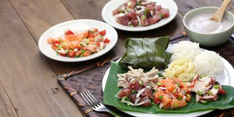 3 Dishes to Enjoy With Lomi Lomi Salmon, Honolulu, Hawaii