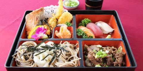 Honolulu Catering Service Shares 5 Common Bento Ingredients, Honolulu, Hawaii