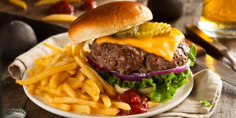 3 Most Popular Cheeses to Order on Burgers, Honolulu, Hawaii