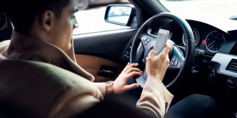 April Is Distracted Driver Awareness Month. Arrive Safe & JUST DRIVE, Honolulu, Hawaii