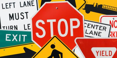 The Meanings Behind 4 Common Traffic Sign Shapes & Colors, Honolulu, Hawaii
