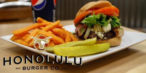 Honolulu Burger Company, Hawaiian Restaurants, Restaurants and Food, Honolulu, Hawaii