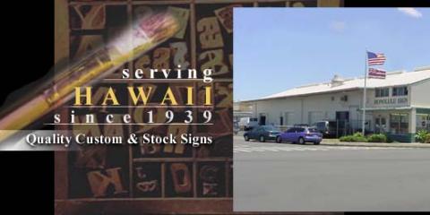 Honolulu Sign Company Limited, Custom Signs, Services, Honolulu, Hawaii