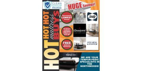 HOT HOT HOT Summer Mattress Deals!, Minocqua, Wisconsin