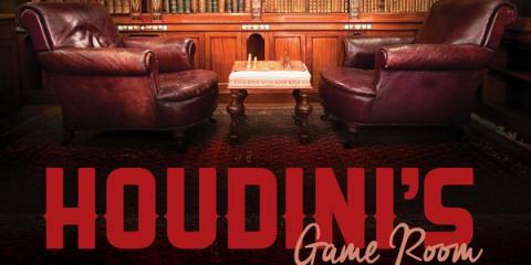 Houdini's Room Escape: Cincinnati's Newest Attraction, Blue Ash, Ohio