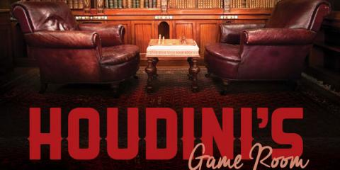 Challenge Yourself to Room Escape at Houdini's, Blue Ash, Ohio