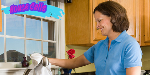 The House Cleaning Team at House Calls Celebrates Breast Cancer Awareness Month, Norwood, Ohio