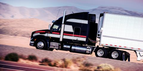 How to Avoid Truck Accidents When Driving Near Semis, Richmond, Texas