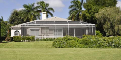 How to Clean a Porch With Screen Doors & Walls, Kahului, Hawaii