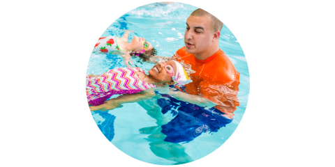 Free Family Swim at Goldfish Swim School, Springdale, Ohio