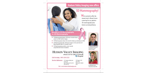 3D Mammography, Monroe, New York