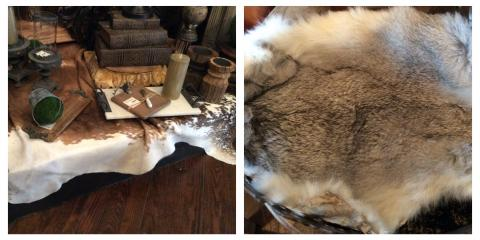 20% Off Animal Hides, Hide Rugs, & Hide Pillows Today Only, Wildwood, Missouri