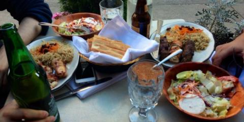A Sneak Peek at The Authentic Middle Eastern Food Available From Afghan Kebab House II, New York, New York