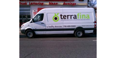 Turn That Plain White Van Into a Rolling Billboard With Help From Paul Signs Inc., Brooklyn, New York