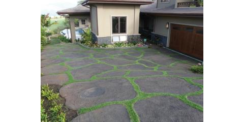 A Landscaped Driveway From Lawntastic Hawaii Adds Beauty & Value to Your Property, Ewa, Hawaii
