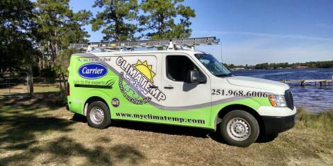 Climatemp Heating & Cooling, Inc., HVAC Services, Services, Summerdale, Alabama