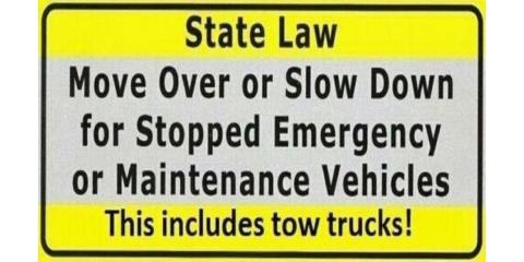 """Everything You Need to Know About Wisconsin's """"Move Over"""" Law, Oakdale, Wisconsin"""