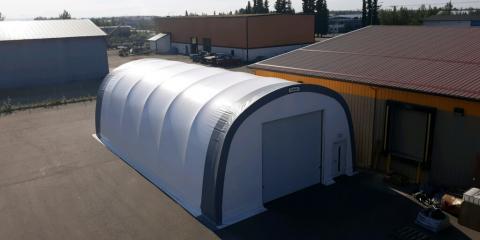 3 Summer Uses for Advanced Fabric-Covered Steel Buildings, Fairbanks, Alaska