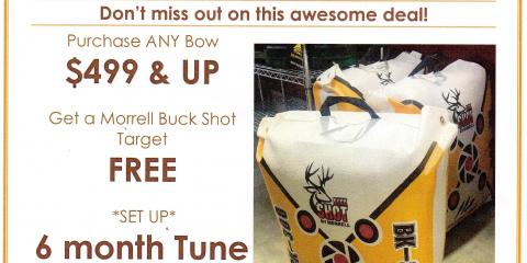 Springtime Archery deals!!! Come take advantage of the great offers!, Independence, Kentucky