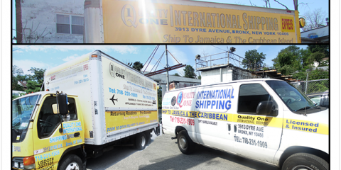 From Boxes to Cars, Bronx's International Shipping to the Caribbean, Bronx, New York