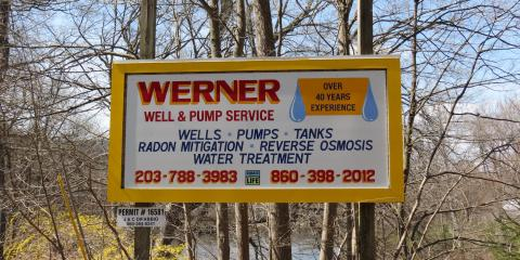 Signs of Possible Water Contamination, New Milford, Connecticut