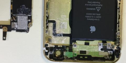 What to do if your iPhone gets Liquid Damage, Bend, Oregon