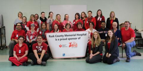 Wear Red for Women on Friday, February 3, Ladysmith, Wisconsin