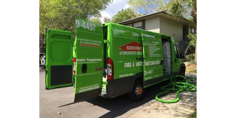 Carpet Cleaning special - SERVPRO's St. Augustine location. , St. Augustine, Florida