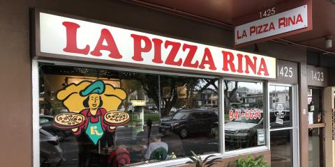 La Pizza Rina, Pizza, Restaurants and Food, Honolulu, Hawaii