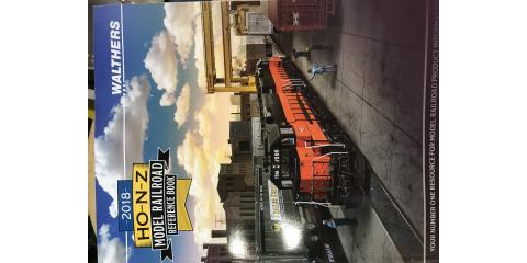 New 2018 Walthers Train Catalogs are here!, Brandon, Florida