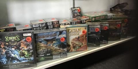 50% OFF SELECT GAMES AT HOBBYTOWN BRANDON, Brandon, Florida