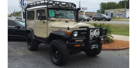 1969 Toyota Land Cruiser - SERVPRO's newest truck?!, St. Augustine, Florida