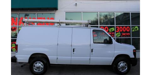 2014 Ford E350 Cargo--Used Vans--Dealership, Midland, Missouri