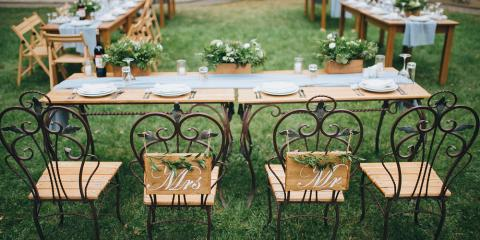 Party Rentals 101: 3 Tips for Planning a DIY Backyard Tent Wedding, St. Peters, Missouri
