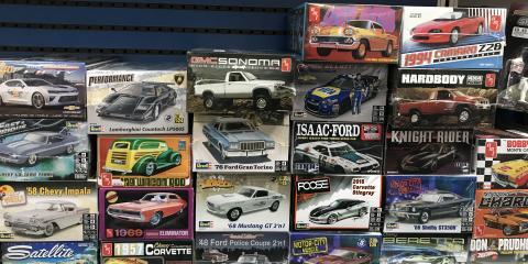 Model Kits Available at Hobbytown USA!, Tampa, Florida
