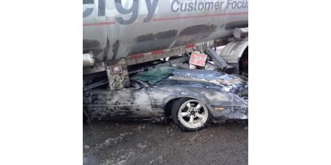 Car crashes into Heyob fuel semi, Harrison, Ohio