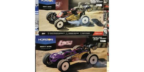 LOSI Eight Vehicles Now at Hobbytown, Tampa, Florida