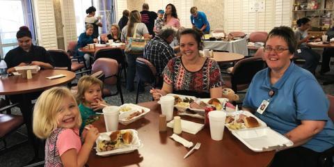 CMHS Thanksgiving Feast, Gatesville, Texas